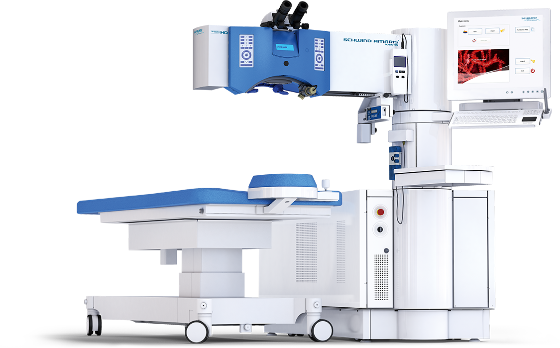 Laser διόρθωσης μυωπίας/υπερμετρωπίας /αστιγματισμού Schwind Amaris 1050